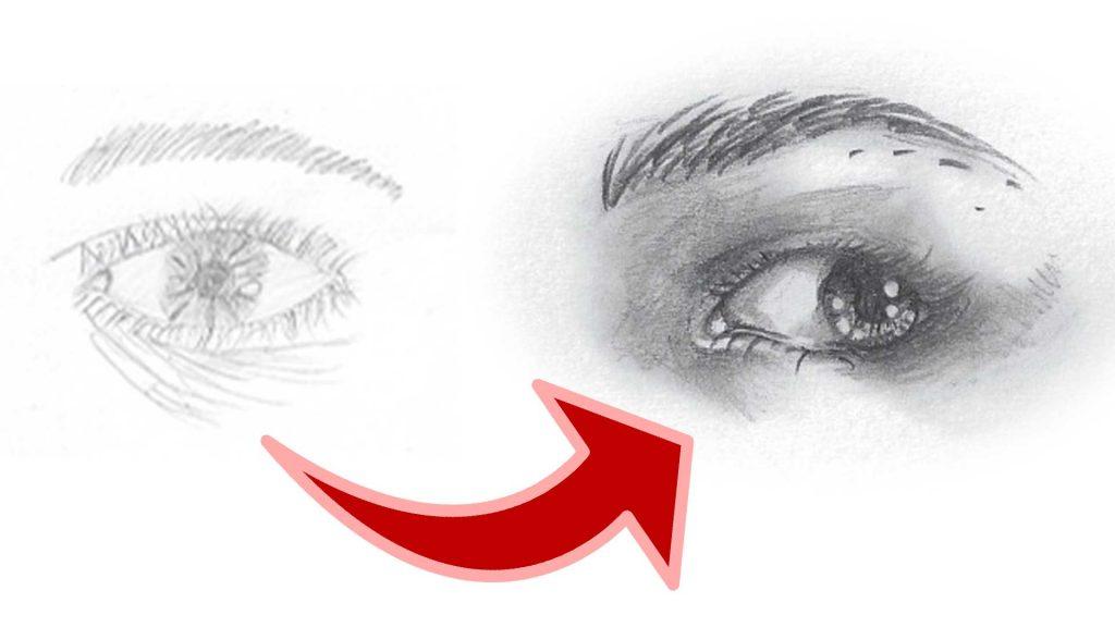 Auge zeichnen Thumbnail