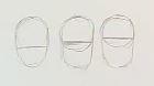 Gesicht zeichnen - Augenhöhen