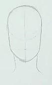 Gesicht zeichnen Schritt 2